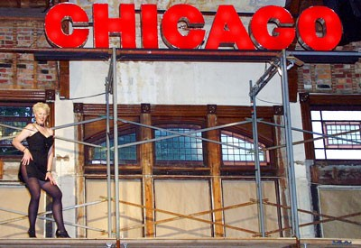 Chicago musical at Town Hall Theater